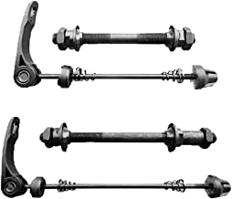 Dofover 4pcs/lot Front/Rear Bicycle Quick Release Bike Hub & Shaft Hollow Axle of Road Mountain Bicycle Parts