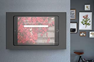 Heckler Windfall Wall Mount Secure Tablet Enclosure with PoE Texas' Power and Wired Data Adapter (Compatible w/ 9.7