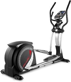 Monitor LCD BH Fitness Cross3000 Dual WG880 bicicleta el/íptica Freno combinado magn/ético y aire Ruedas de transporte.