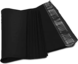 Amiff Poly mailers 19x24 Poly Bags 19 x 24. Peel & Seal. Waterproof & Lightweight. Wrapping, Packing, Packaging, Shipping. Pack of 50 Black Poly Envelopes. Mailing Bags.