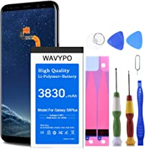 (Upgraded) Wavypo Galaxy S8 Plus Battery, 3830mAh EB-BG955ABE Replacement Battery for Samsung Galaxy S8 Plus SM-G955 G955A G955V G955T G955P G955R4 G955F with Repair Toolkit [24 Months Warranty]