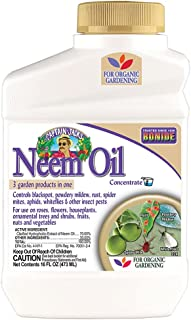 Bonide (BND024) - Neem Oil Concentrate, Insect Pesticide for Organic Gardening (16 Oz.), (Packaging May Vary)