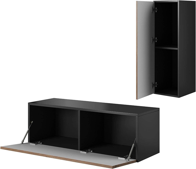 Furniture24 H/ängeschrank Wandschrank Fargo FG08 mit 1 T/ür