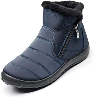 Women Boots Winter Shoes Woman Snow Boots With Plush Inside Boots Waterproof Plus Size 43 Winter Boots