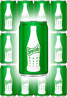 Sprite, 7.5 Fl Oz Mini Can (Pack of 12, Total of 90 Oz)