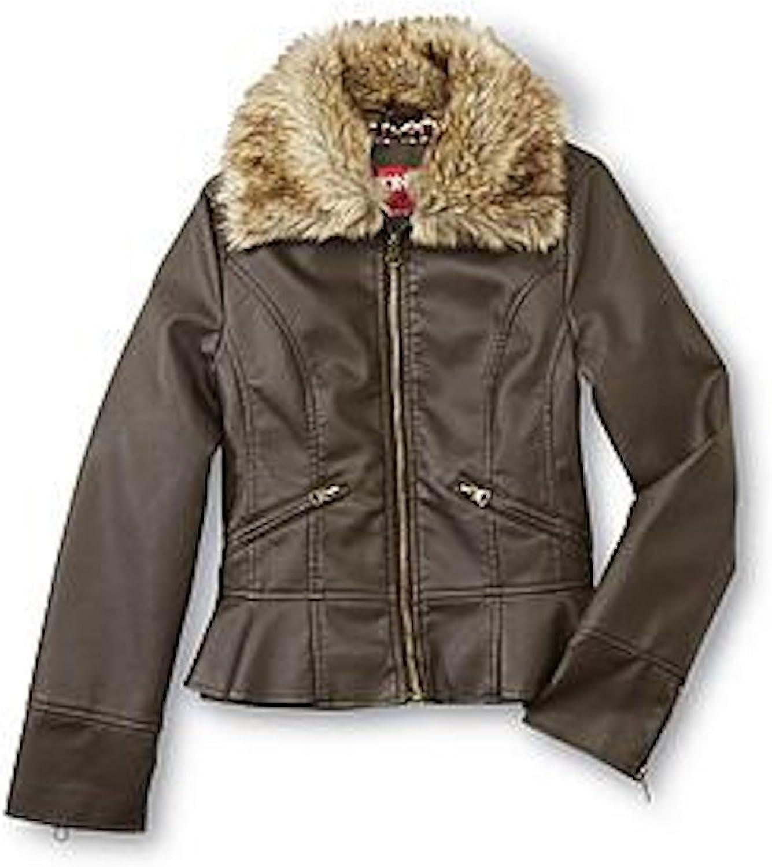 Fadcloset Abby Girls Leather Jacket