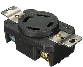 Podoy L14-30R 30A Plug Twist Lock Locking Receptacle Female Device Connector 125V-250V NEMA Plug