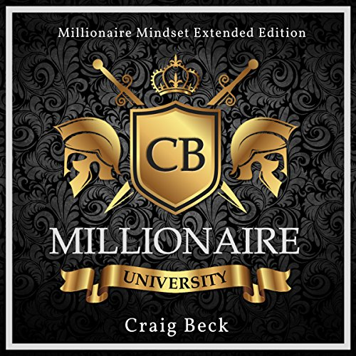 Millionaire University audiobook cover art