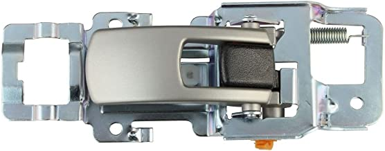 IAMAUTO 20944 For 2005 2006 2007 2008 2009 Equinox Inside Silver Door Handle Right Passenger Side Front or Rear
