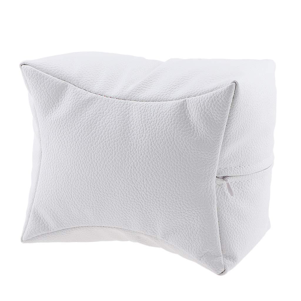 大宇宙いいね隣接B Blesiya ネイルサロン ハンドクッション レストピロー 手枕 弾力性 4色選べ - 白