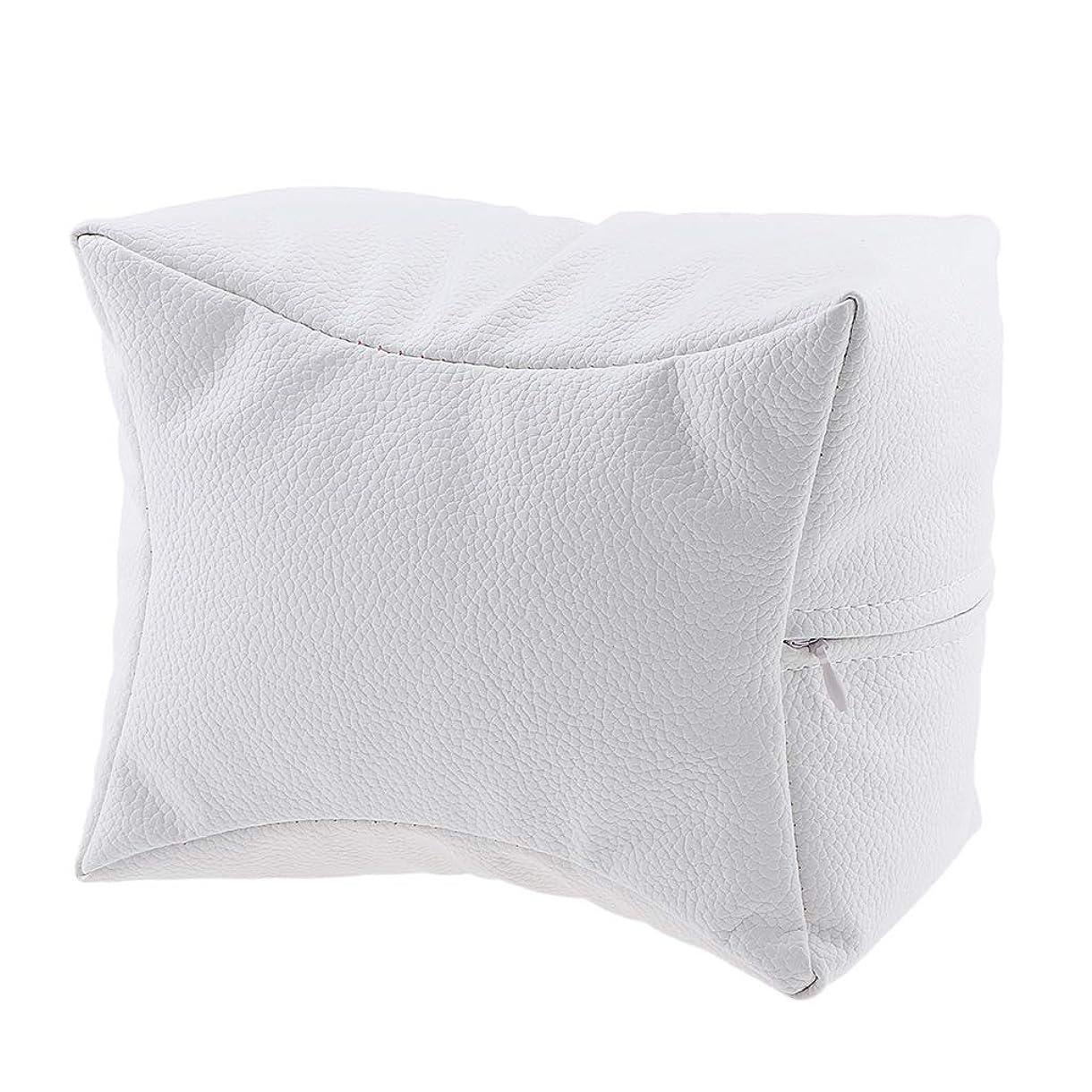 麺発明市の中心部P Prettyia ネイルハンドピロー プロ ネイルサロン 手枕 レストピロー ネイルケア 4色選べ - 白