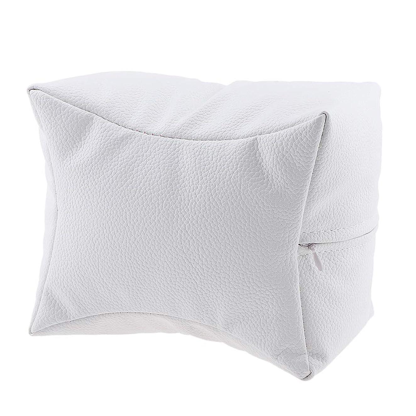 チーム保存するなめるB Blesiya ネイルサロン ハンドクッション レストピロー 手枕 弾力性 4色選べ - 白