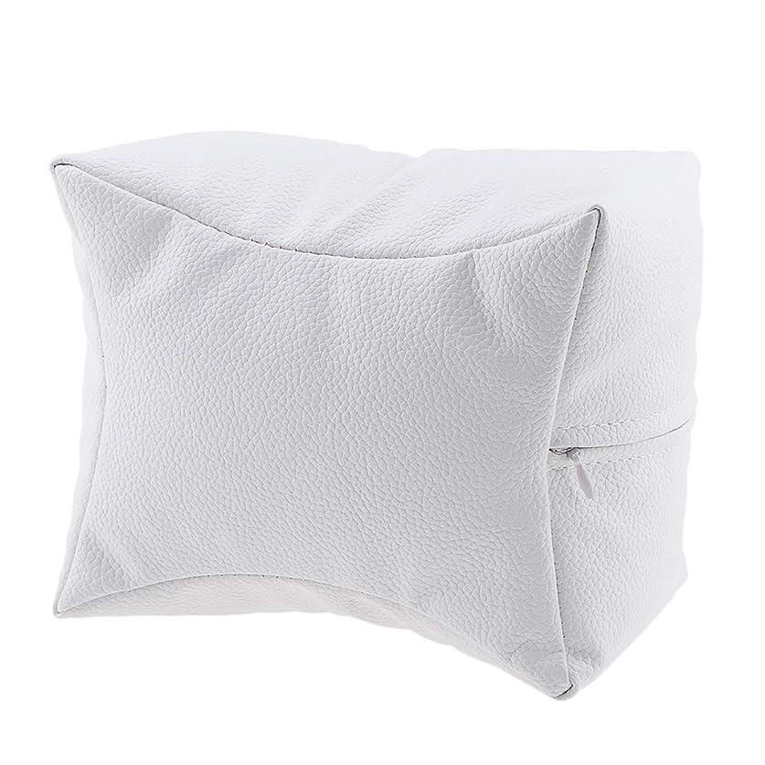 意気揚々ヒューズ偶然B Blesiya ネイルサロン ハンドクッション レストピロー 手枕 弾力性 4色選べ - 白