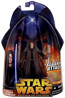 Star Wars Revenge of the Sith #28 Anakin Skywalker (Slashing Attack) Action Figure