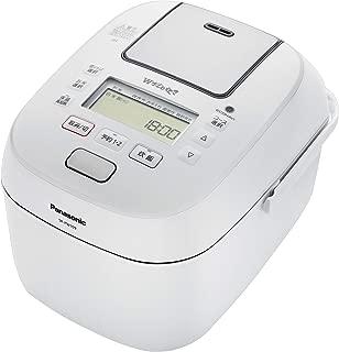 パナソニック 5.5合 炊飯器 圧力IH式 Wおどり炊き ホワイト SR-PW109-W