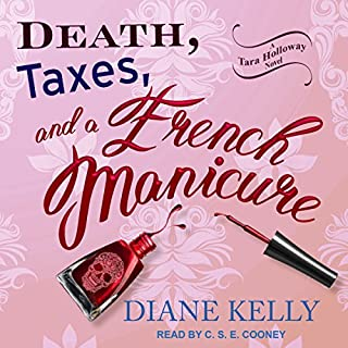Death, Taxes, and a French Manicure audiobook cover art
