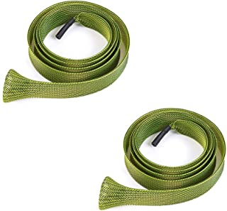 ActiveCraft 2 Pack - Fishing Rod Wraps - Spinning or Conventional Rods up to 9' in Length - Protect Your Guides