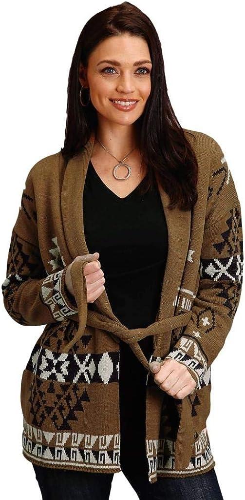 Stetson Women's Aztec Sweater Cardigan X-Small Ranking TOP20 lowest price Multi