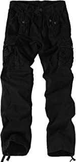 Eaglide Men's Cotton Heavyweight Relaxed Fit Casual Work Outdoor Multi Pockets Warm Tactical Cargo Pant