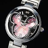 ミッキー生誕85周年記念 世界限定メモリアルダイヤ時計 ピンク