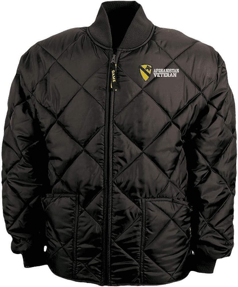 1st Cavalry Division Afghanistan Veteran Game Sportswear Bravest Jacket