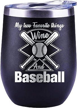 Baseball Mug Valentines Day Gifts for Him | For Men | Women | Boyfriend | Husband | Christmas | Lover | Wine Glass | Coffee C