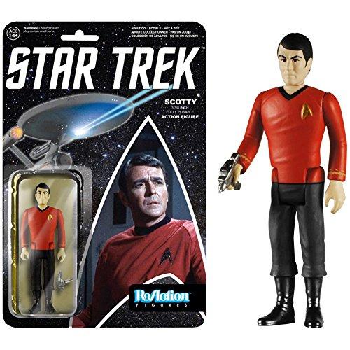 Star Trek ReAction Actionfigur Scotty 10 cm