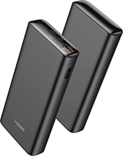 VEGER Power bank 20000mAh 45w fast charging power bank pd,65w pd slim power banks fast charging,Dubal typc C ports externa...