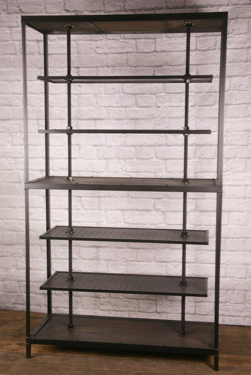 Industrial Retail Fixture High quality Over item handling ☆ - Display Rustic Shelving. Clothing Ra