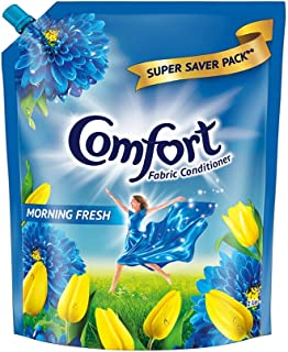 Comfort After Wash Fabric Conditioner Pouch (Fabric Softener) - For Shine And Long Lasting Freshness, 2 Ltr