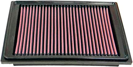 K&N engine air filter, washable and reusable:  2005-2019 Toyota Tacoma L4 2.7L 33-2306