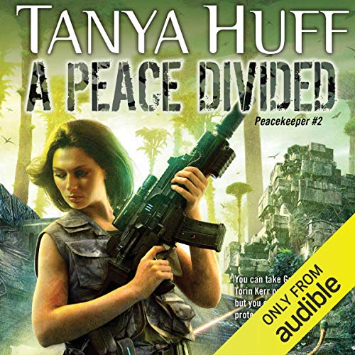 A Peace Divided audiobook cover art