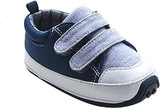 Kuner Baby Boys Girls Cotton Rubber Sloe Outdoor Sneaker First Walkers Shoes
