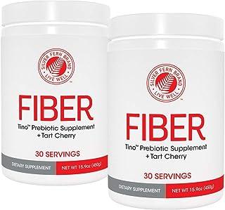 Tino High Fiber Supplement Powder - Non-GMO, Pre-Biotic, Water Soluble, Digestive Friendly, Powdered Mix - ...