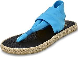 Nalho Women's Yoga Mat Memory Foam Espadrilles Sandals, Ganika