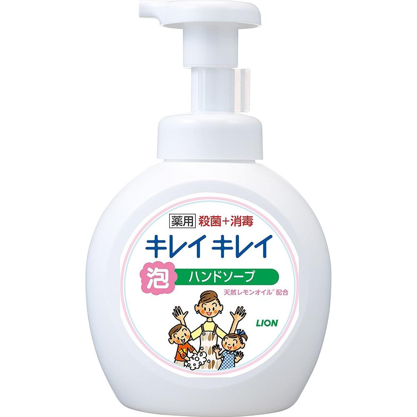 宙返り葉っぱ不透明なキレイキレイ 薬用 泡ハンドソープ シトラスフルーティの香り 本体ポンプ 大型サイズ 500ml(医薬部外品)