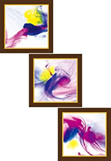 Go Hooked Digital Wall Painting Set of 3 / Paintings for Bedroom/Wall Paintings/Wall Décor/Home Décor