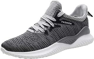 Sportschoenen voor dames en heren, lichtgewicht, hardloopschoenen, zwart
