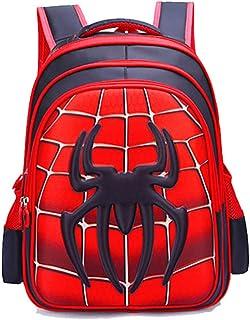 JIAN Mochila para Niños Anime Cartoon School Bag Impermeable Ligero Durable,A-M
