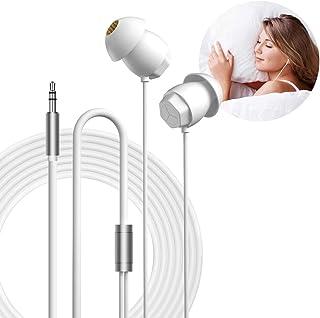 Geekria - Auriculares para dormir, aislantes de ruido, mini ASMR para dormir, insomnio, viaje aéreo, sueño lateral, sueño ...