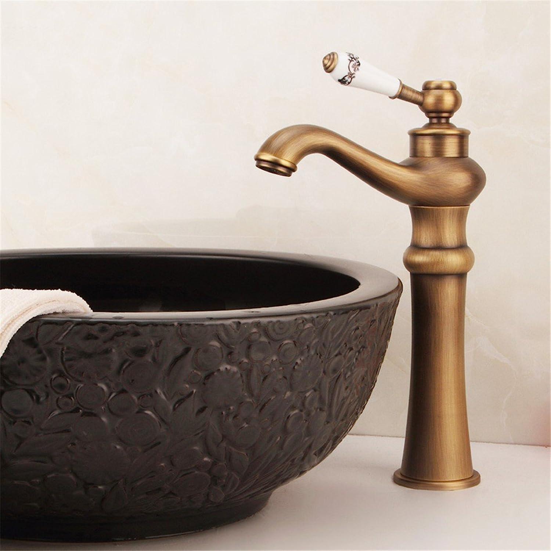 SHLONG Europische Becken Wasserhahn alle Kupfer heien und kalten Wasserhahn antiken Wasserhahn waschen