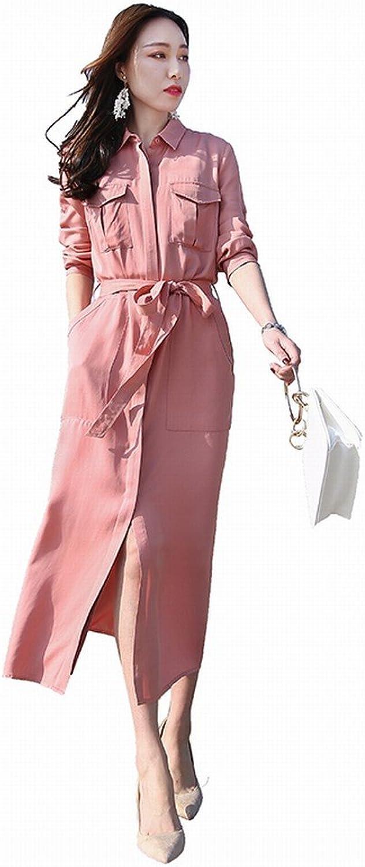 CWJ Fashion Dress Women Loose Thin Long Section The Piano Temperament Split Skirt Tide