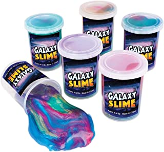 7July Bulk Unicorn Slime Party Favors for Kids(6 Pack)-Galaxy Slime-Sludge Great Toy for Birthday Gift Kids Prizes Child Favors