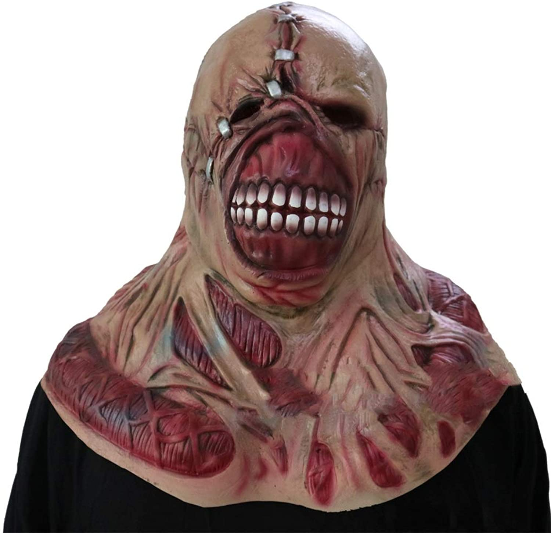 GXDHOME Latex Kopf Masken, Resident Evil Halloween Horror Ghost Zombie Kostüm Scary Teufel Demon Bloody Creepy Kostüm B07J35J6TX Sofortige Lieferung | Hohe Qualität Und Geringen Overhead