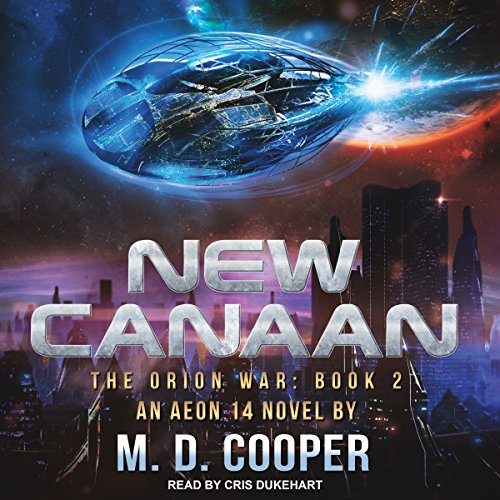 New Canaan audiobook cover art