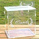 OurWarm Wedding Card Box for Wedding...