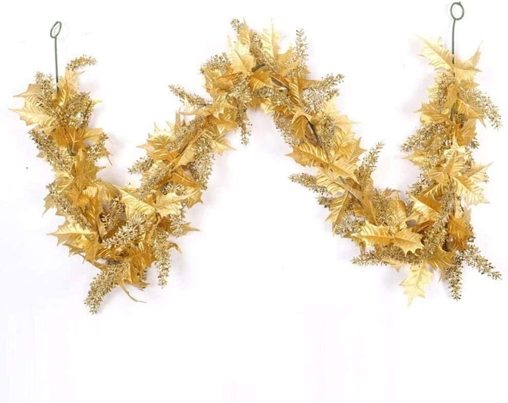 MGE Home Garden Artificial Autumn Sales results No. 1 Garland Leaves Fall Pl Max 77% OFF Hanging