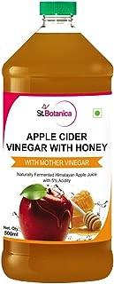 St.Botanica Apple Cider Vinegar with Mother Vinegar and Honey - 500 ml