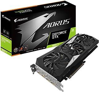 Gigabyte GeForce  AORUS GTX 1660 Ti 6GB DDR6 - Tarjeta gráfica ( PCI Express 3.0 x 16, HDMI/DP, 4K)