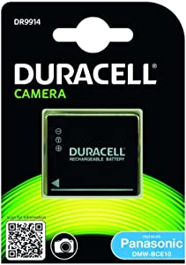 Duracell Replacement Digital Camera Battery For Panasonic DMW-BCE10...